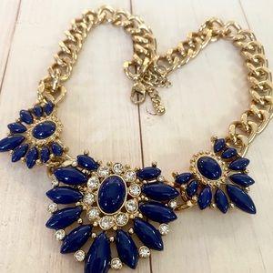 Beautiful Blue Statement Necklace